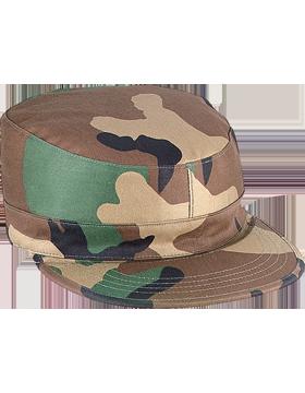 LG WOODLAND FATIGUE CAP POLY/COTTON