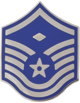United States Air Force Rank (AF-107) Master Sergeant with Diamond