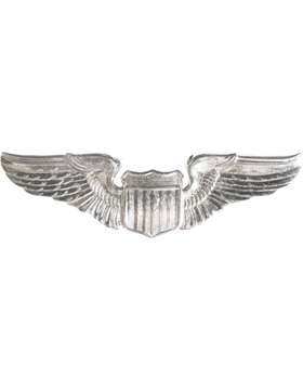USAF Badge No Shine Basic Pilot