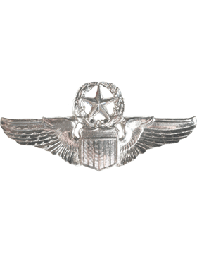 USAF Badge No Shine Command Pilot