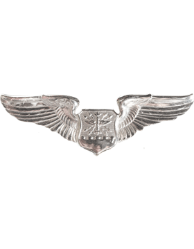 USAF Badge No Shine Basic Navigator Observer