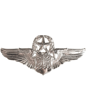 USAF Badge No Shine Master Navigator Observer
