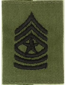 Gortex Loop OD Sgt Major (AR-GL110)