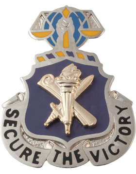 Regimental Crest Civil Affairs (Secure the Victory)