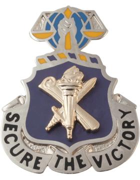 Regimental Crest Civil Affairs (Secure the Victory)
