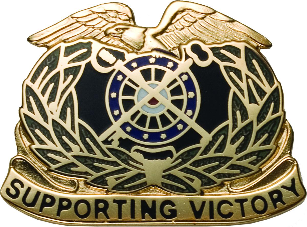Regimental Crest Quartermaster (Supporting Victory) | US ...