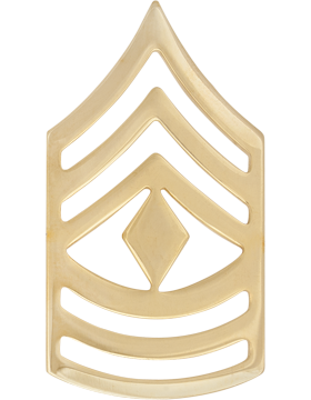 No-Shine Rank (NS-109) First Sergeant (E-8)