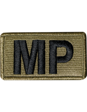 Military Police (MP) Scorpion Patch W/Fastener (PMV-MP)