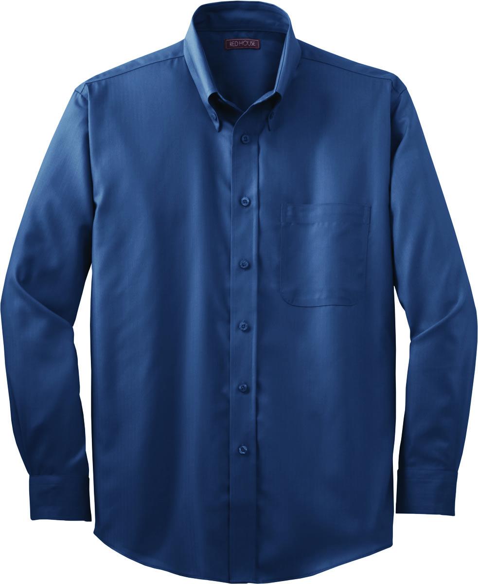 red house herringbone non iron button down shirt rh38