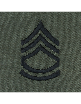 Subdued Sew-on Rank S-107 Sergeant First Class (E-7)