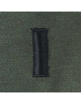 Subdued Sew-on Rank S-117 First Lieutenant