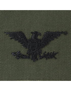 Subdued Sew-on Rank S-121 Colonel