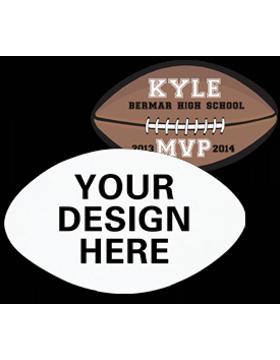 A008 Custom Sublimation Felt Football Emblem
