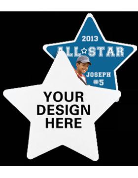 A012 Custom Sublimation Star Felt Emblem