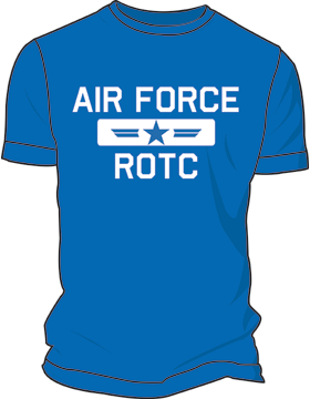 Air Force ROTC Pilot T-Shirt 4082