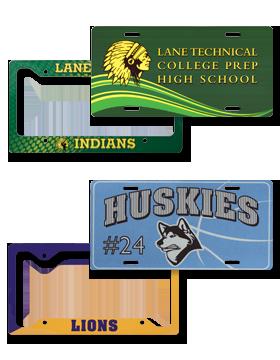 License Plates - Frames