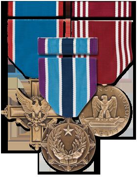 Full Size Medal - Ribbon Sets