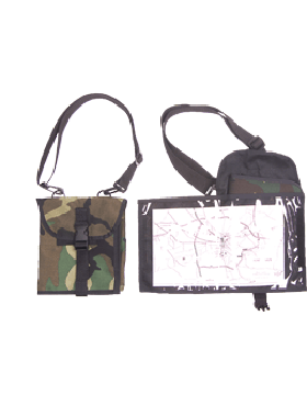 Field Waterproof Map Case Organizer with Strap Foliage Green 028HG
