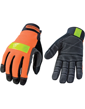 Saftey Orange Utility Gloves 03-3600-50