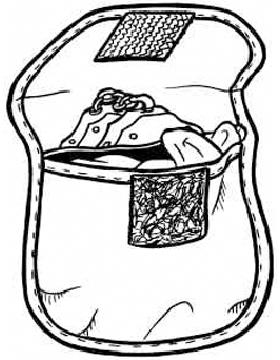 Cordura Hand Cuff Case/Glove Pouch
