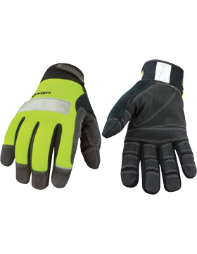 Saftey Lime Lined with  Kevlar Gloves 08-3083-10