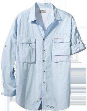 Gulf Stream L/S Fishing Shirt 1013L