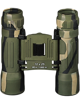 Camo Compact 10 X 25MM Binoculars w/Case EYE-R/10282