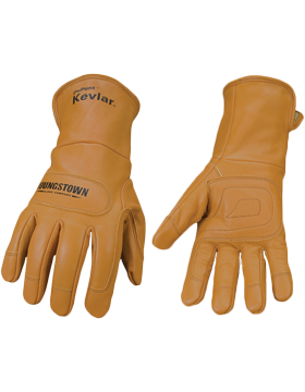 FR Leather Utility Lined with  Kevlar Gloves 11-3280-60 small