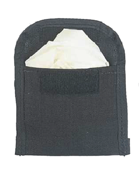 Wide Surgical Glove Pouch Black 013GW