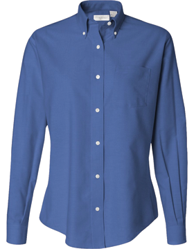 Van Heusen Ladies Oxford Shirt 13V0002 Long Sleeve