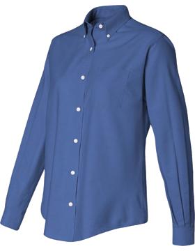 Van Heusen Ladies Oxford Shirt 13V0002 Long Sleeve small