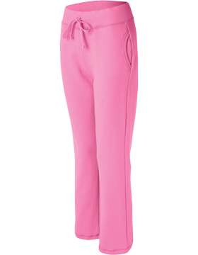 Missy Fit Open Bottom Sweatpants 18400FL Azalea