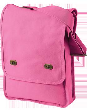 Pigment-Dyed Canvas Field Bag 1902 Flamingo