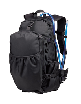 6205 ENDURANCE BLK TACTICAL HYDRATION PACK