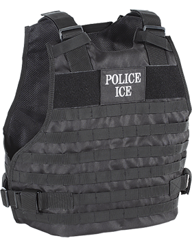 Police ICE Plate Carrier 20-9029