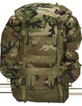 GI TYPE CAMO CFP-90 COMBAT PACK
