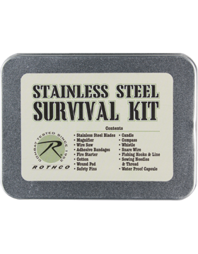 Survival Kit Stainless Steel 2720