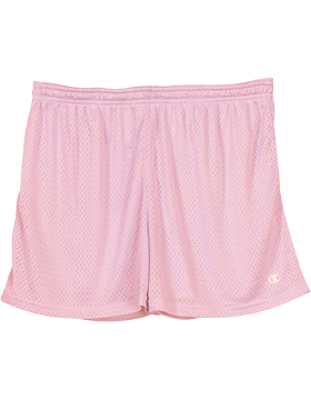 Ladies' Active Mesh Shorts 3393 Cashmere Pink small