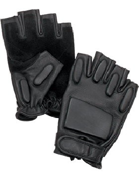 Glove Fingerless Rappelling Black