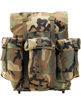 ENHANCED ALICE PACK W/FRAME - CAMO