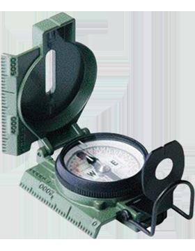 G.I. Issue Military Lensatic Phosphores Compass 415
