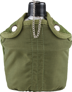 Aluminum Canteen with Cover 422