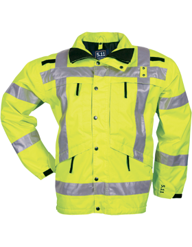 High-Vis 5.11 Reversible Parka Reflective 48014