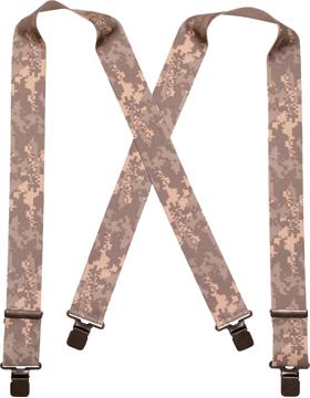 Elastic 2in Wide Suspenders ACU 49-547