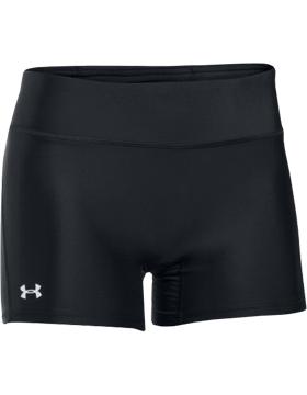 Ladies HeatGear® Compression Shorts Black 1005126-001