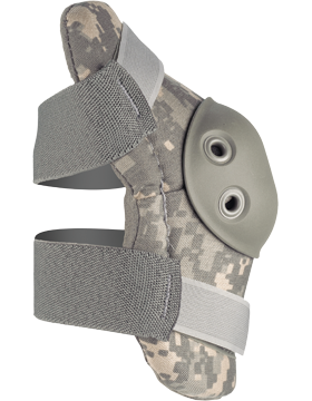 FLEX Round Cap Heavy-Duty Military Elbow Protectors