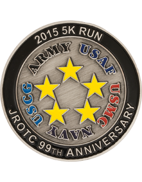 Custom 5K 2015 JROTC Coin (1-5)