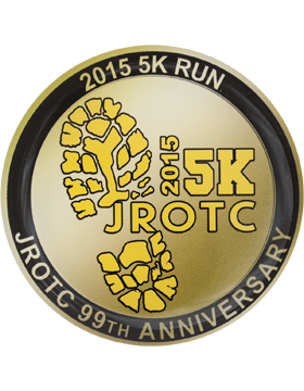 Custom 5K 2015 JROTC Special Edition Coin (1-5)