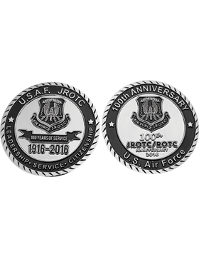 Stock 5K 2016 U.S. Air Force JROTC Coin