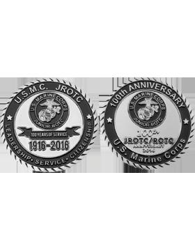 Stock 5K 2016 U.S. Marine Corps JROTC Coin